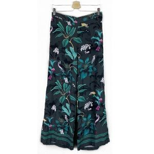 Anna Glover x H&M | Floral Tropical wide leg pants